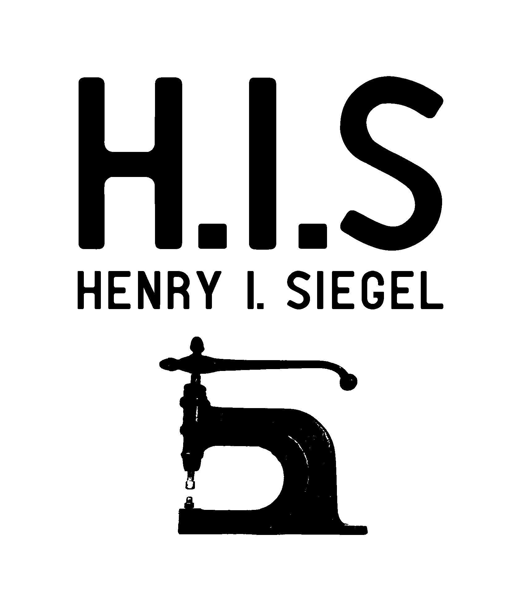H.I.S_Henry-I-Siegel_stanzmaschine_Kombi-Logo